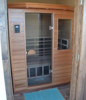 Infrared Sauna Therapy natural remedies with salt in Woodbury The Salt Room Woodbury